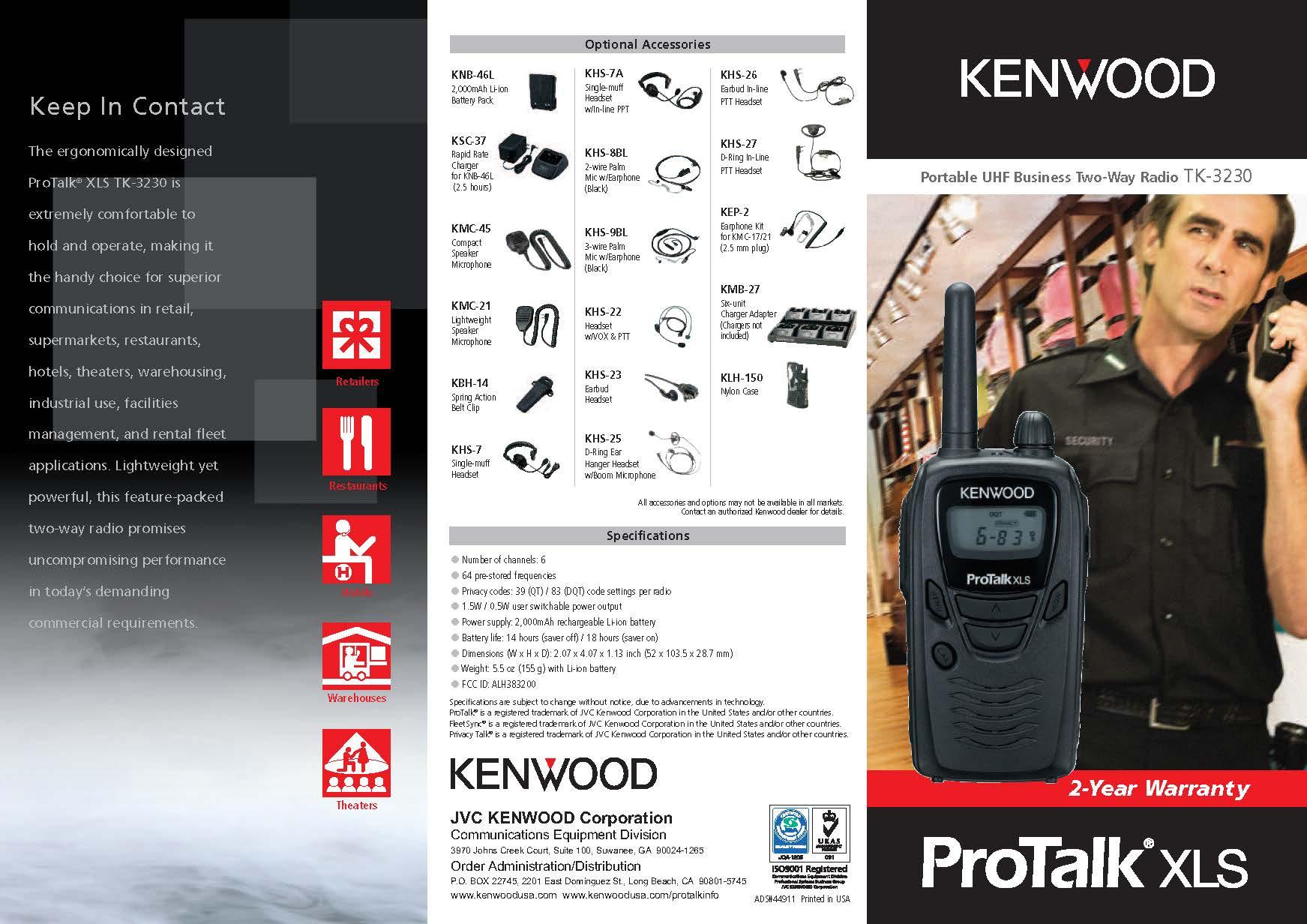 TK-3230 Brochure