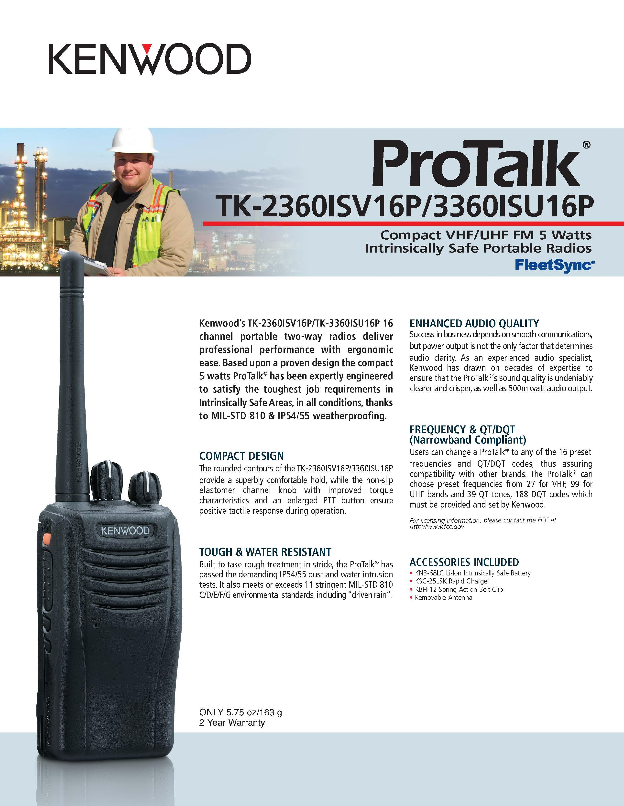 TK-2360ISV16P/3360ISU16P